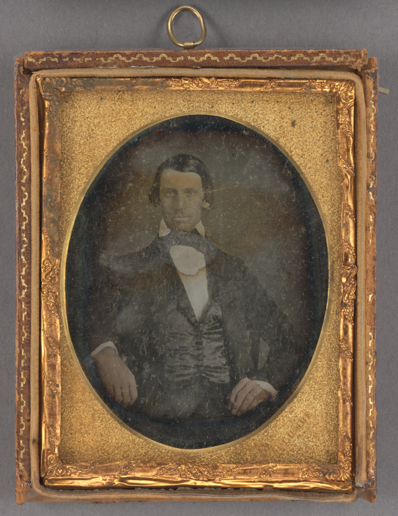 John Plumbe Jr.:[Portrait of a Seated Young Man],16x12