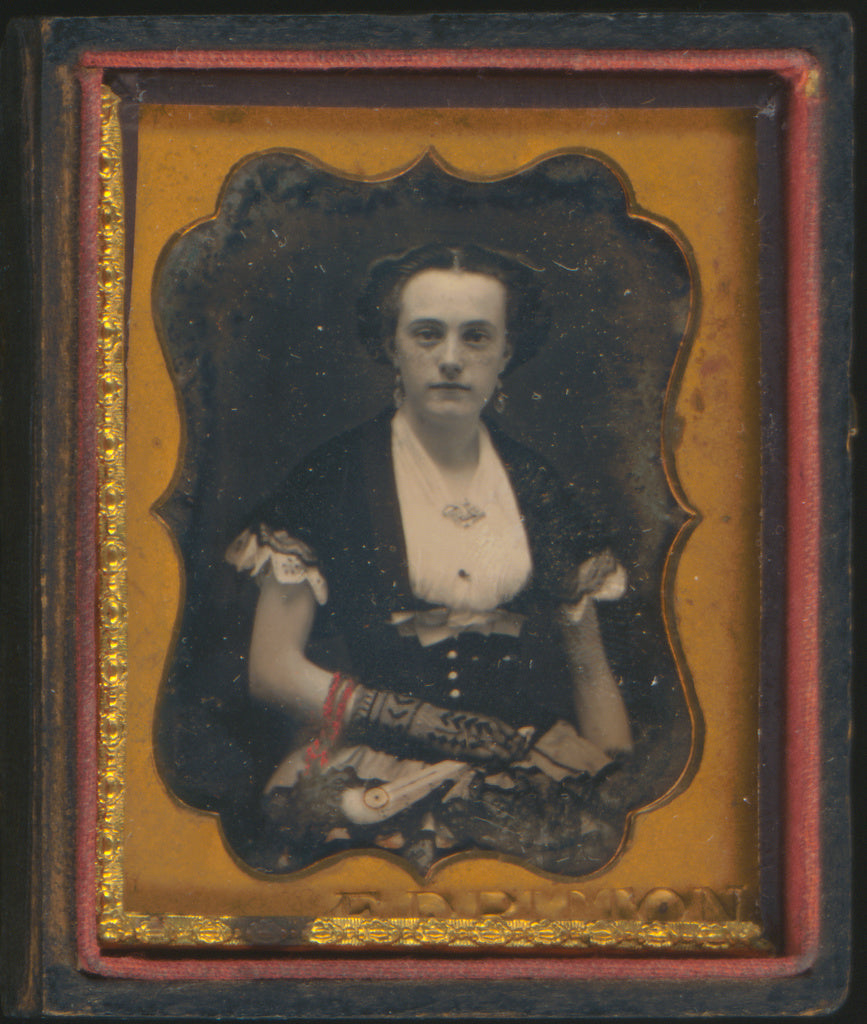 Edward D. Ritton:[Portrait of a Seated Woman],16x12