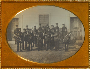 "Unknown maker, American:[Portrait of a Brass Band],16x12""(A3)Poster"