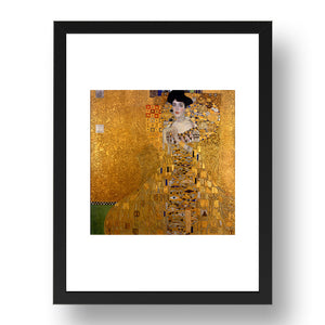 Gustav Klimt - The Kiss [1909], A4 size (8.27 × 11.69 inches) Poster