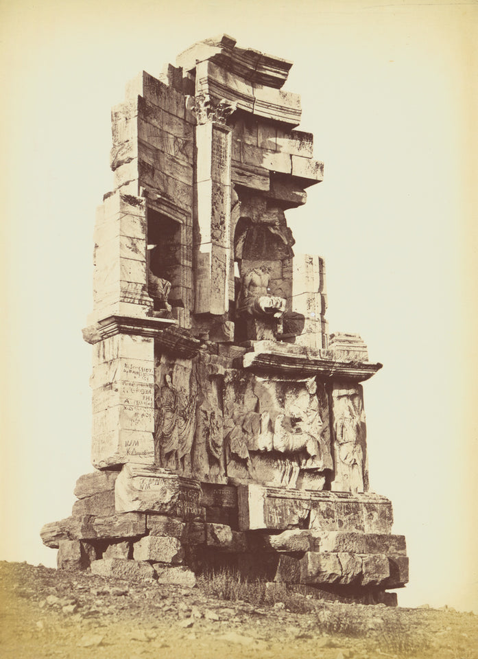 "Petros Moraites:[The Philopappos Monument],16x12""(A3)Poster"