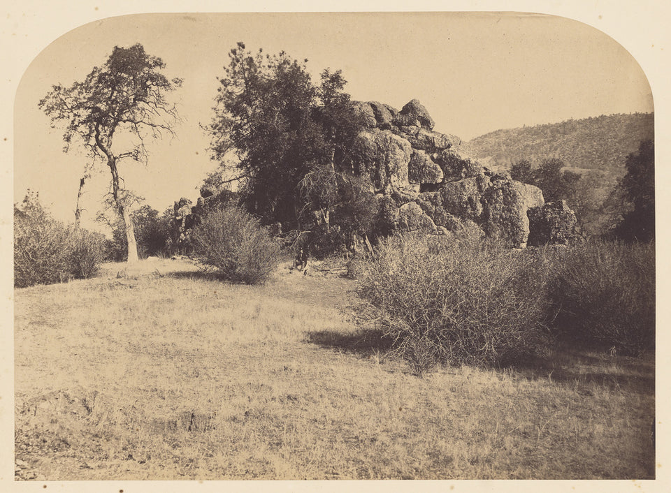"Carleton Watkins:[Tower Rock - North View],16x12""(A3)Poster"