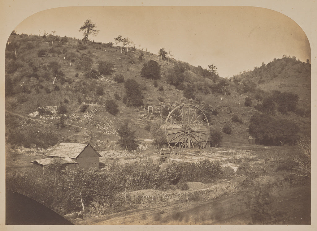 Carleton Watkins:[Elliott's Mill on Stockton Creek] / [Ellio,16x12