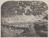 "Carleton Watkins:[Rail Road Bridge] / [Railroad Bridge, Cape,16x12""(A3)Poster"