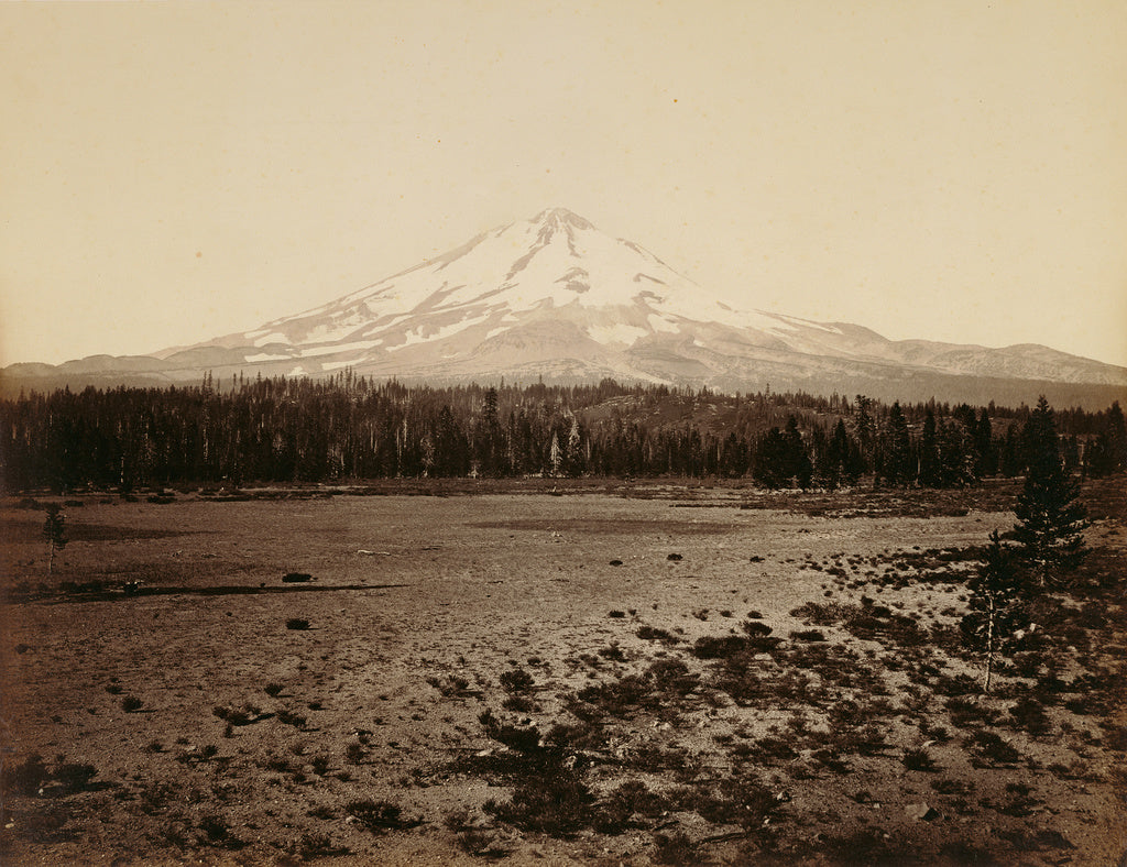 Carleton Watkins:Mt. Shasta from the North. Cal. / [Mount Sh,16x12