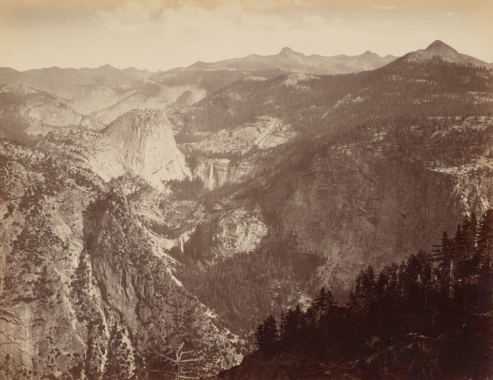 "Thomas Houseworth & Company:[Yosemite Valley from Above] / [,16x12""(A3)Poster"