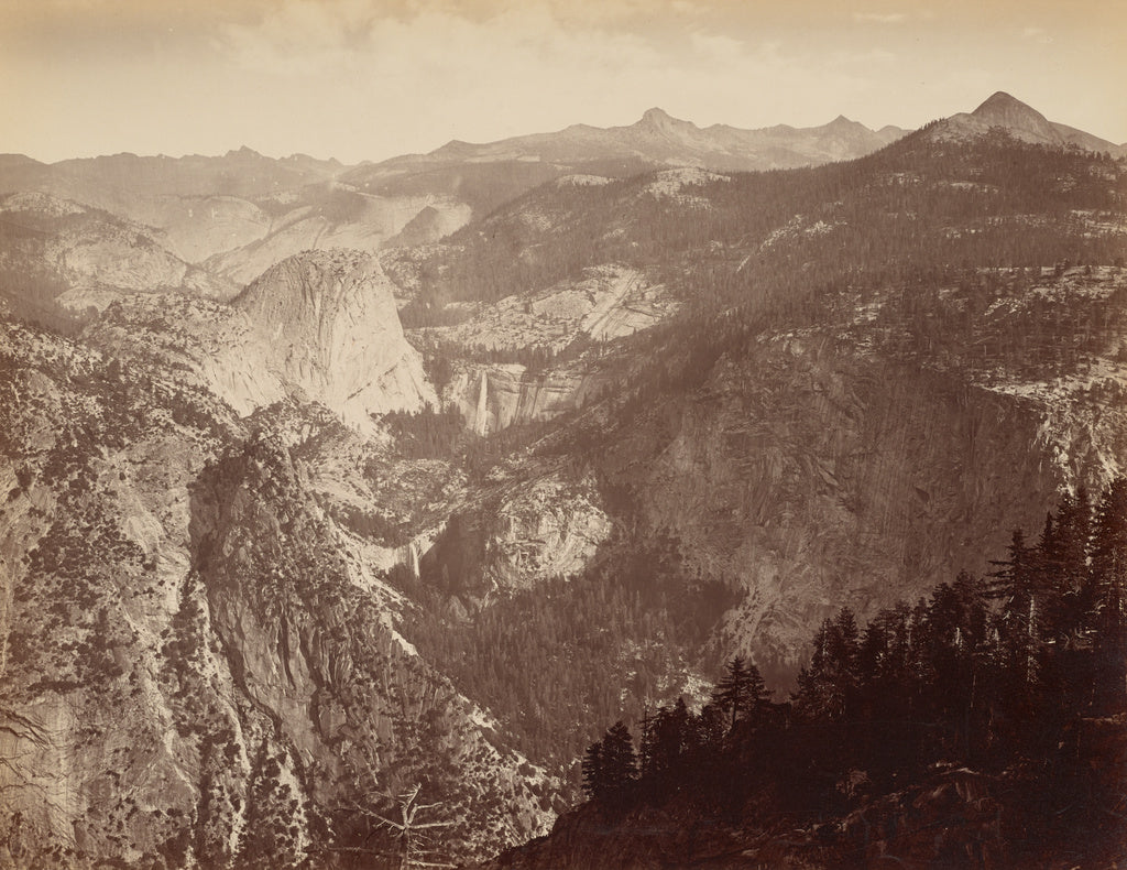 Thomas Houseworth & Company:[Yosemite Valley from Above] / [,16x12