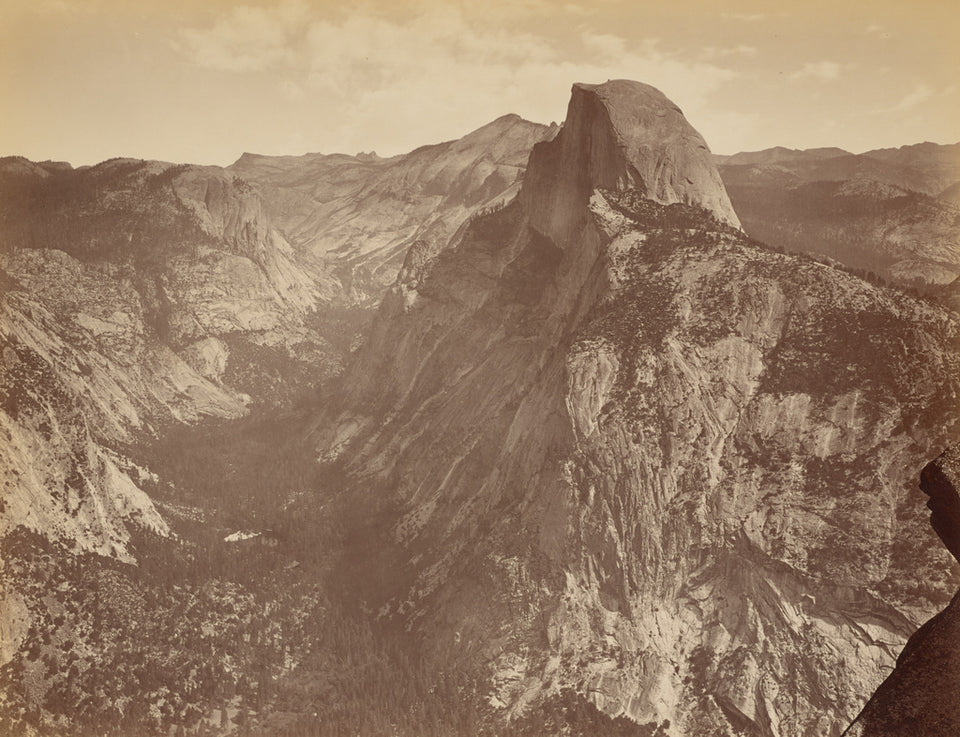 "Thomas Houseworth & Company:[The Half Dome from Glacier Poin,16x12""(A3)Poster"