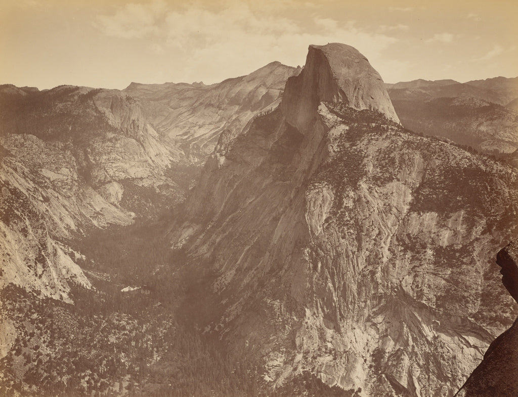 Thomas Houseworth & Company:[The Half Dome from Glacier Poin,16x12