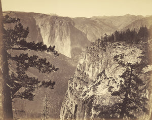 "Carleton Watkins:[First View of the Valley],16x12""(A3)Poster"