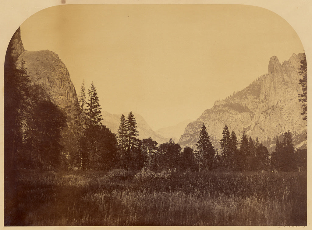"Carleton Watkins:[Yosemite, View on Valley Floor, with Senti,16x12""(A3)Poster"