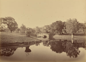 "Carleton Watkins:[Pond and Bridge, Thurlow Lodge],16x12""(A3)Poster"