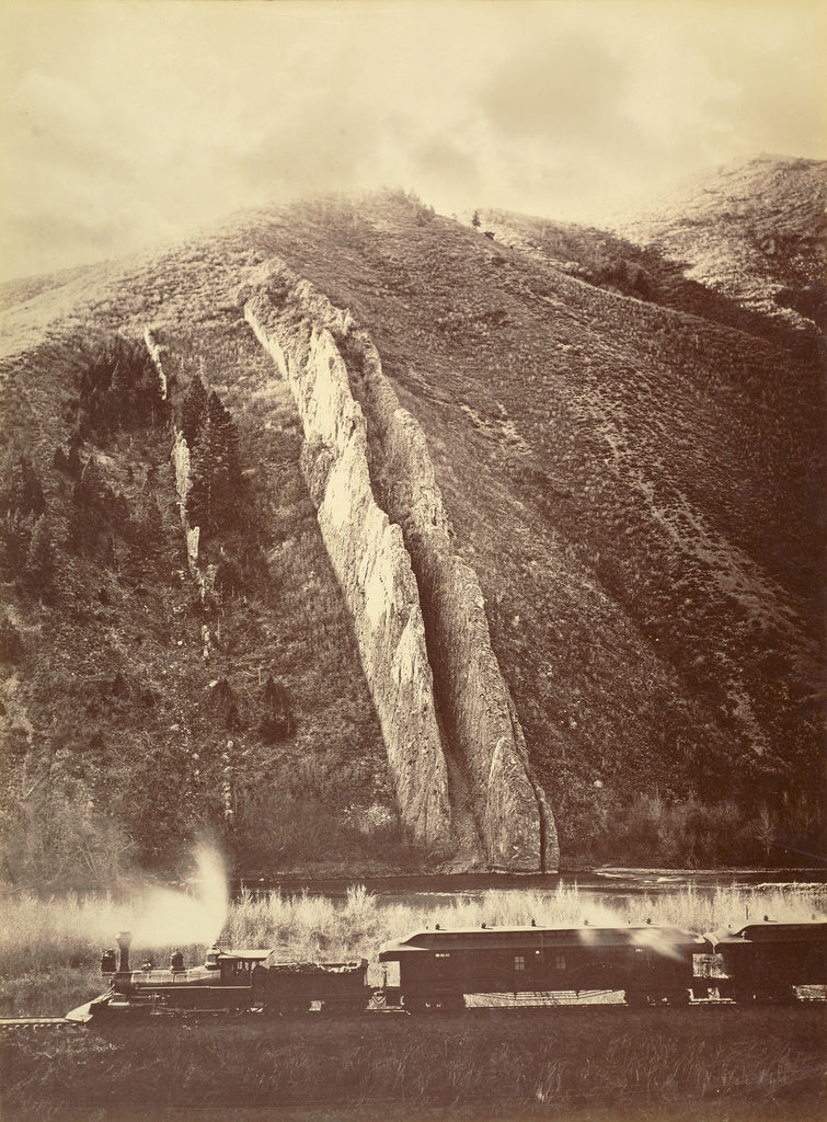 Carleton Watkins:[The Devil's Slide, Utah],16x12
