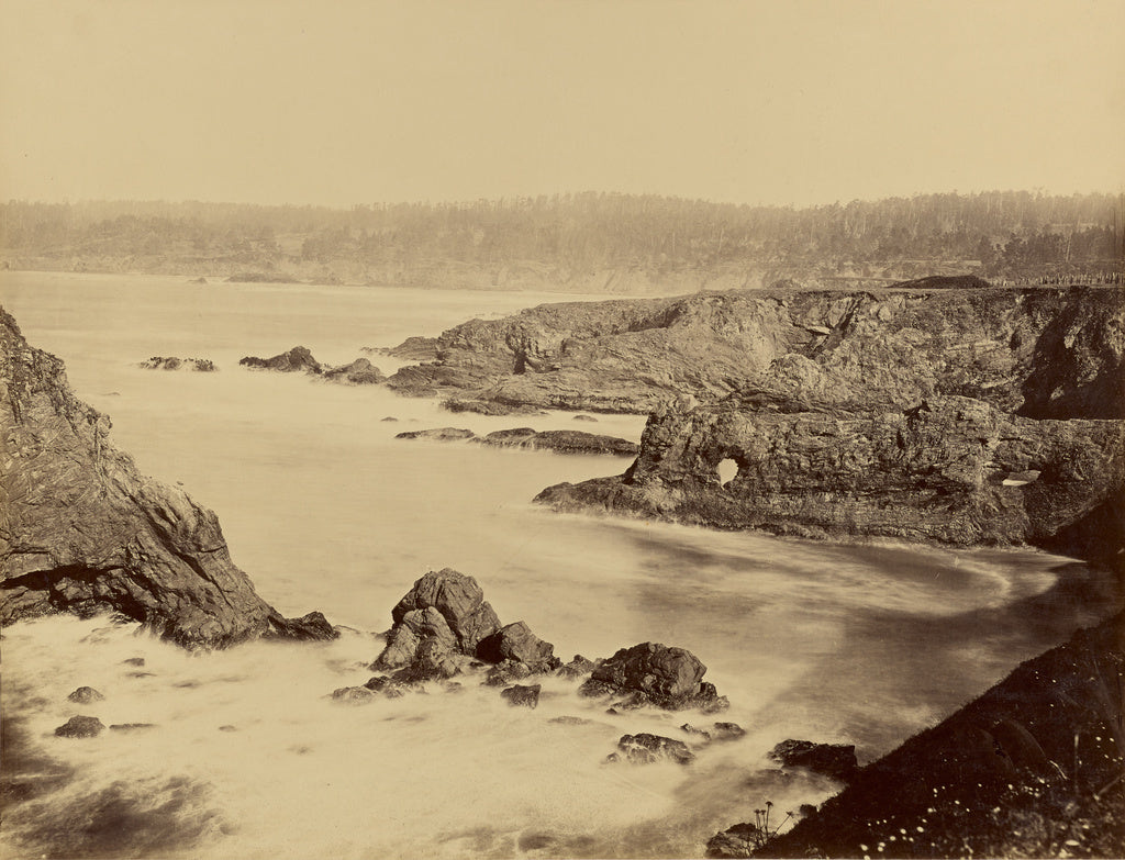 Carleton Watkins:[Coast View of Mendocino],16x12