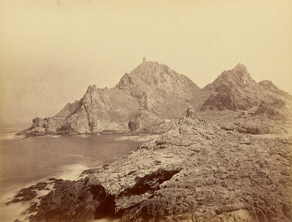 "Carleton Watkins:[Lighthouse, Farallon Islands] / [At the Fa,16x12""(A3)Poster"