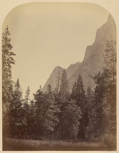 "Carleton Watkins:Outline View of the Half Dome - 4967 ft., Y,16x12""(A3)Poster"