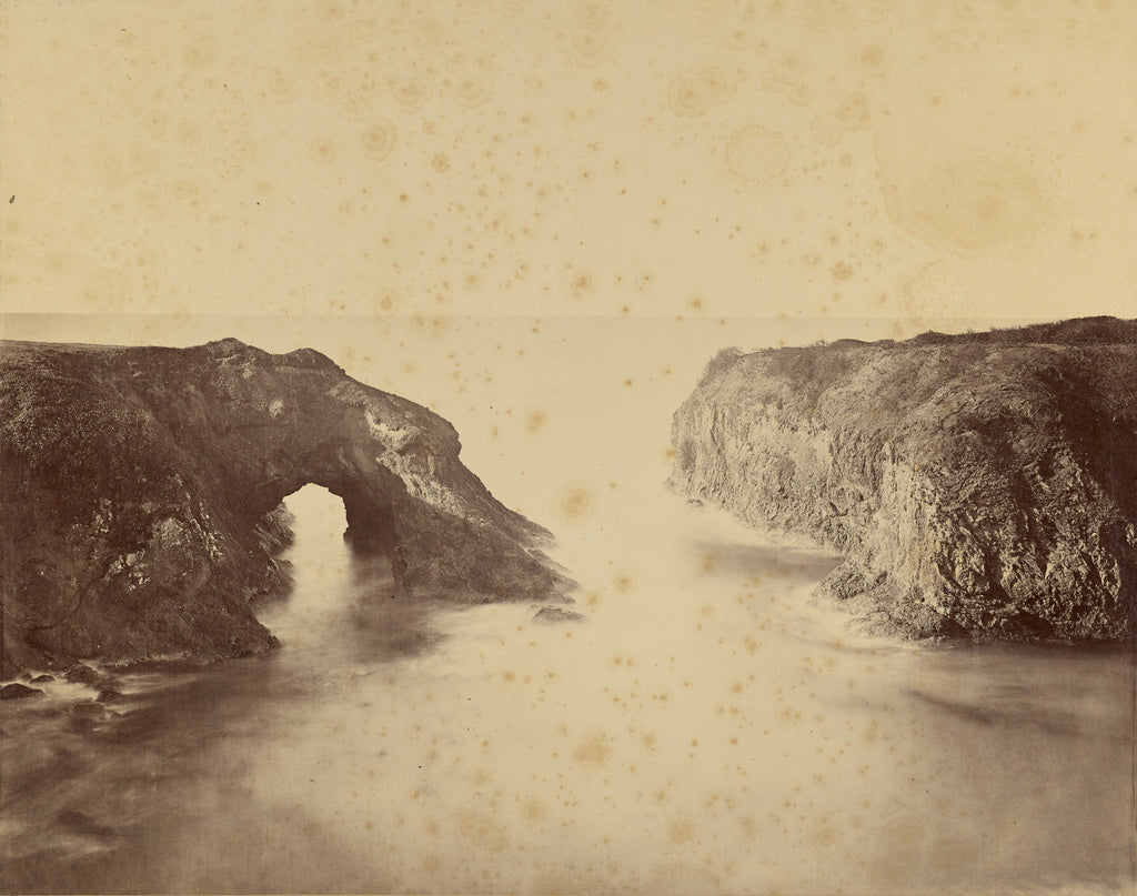 Carleton Watkins:[View of the Pacific Coast, Mendocino],16x12