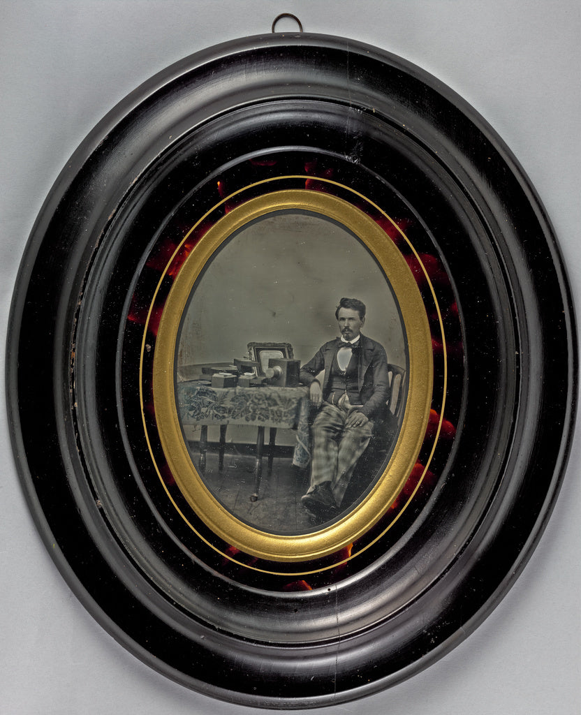 Unknown maker, French:[Portrait of a French daguerreotypist ,16x12