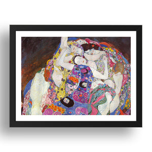 Gustav Klimt - The Virgin [1913], A4 size (8.27 × 11.69 inches) Poster