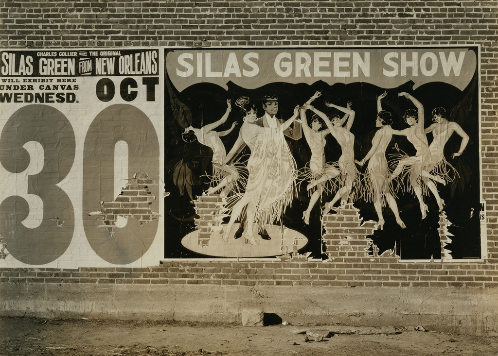 Walker Evans:Show Bill, Demopolis, Alabama / Poster, Alabama,16x12