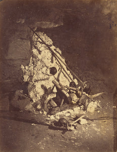"Nadar [Gaspard Félix Tournachon]:[The Catacombs of Paris. T,16x12""(A3)Poster"