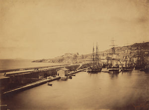 "Gustave Le Gray:[Ships in Harbor, Sete],16x12""(A3)Poster"