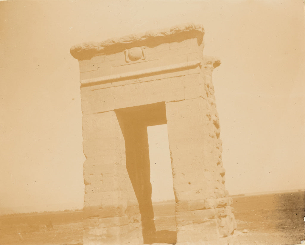 Unknown:[Temple Arch at Karnak],16x12