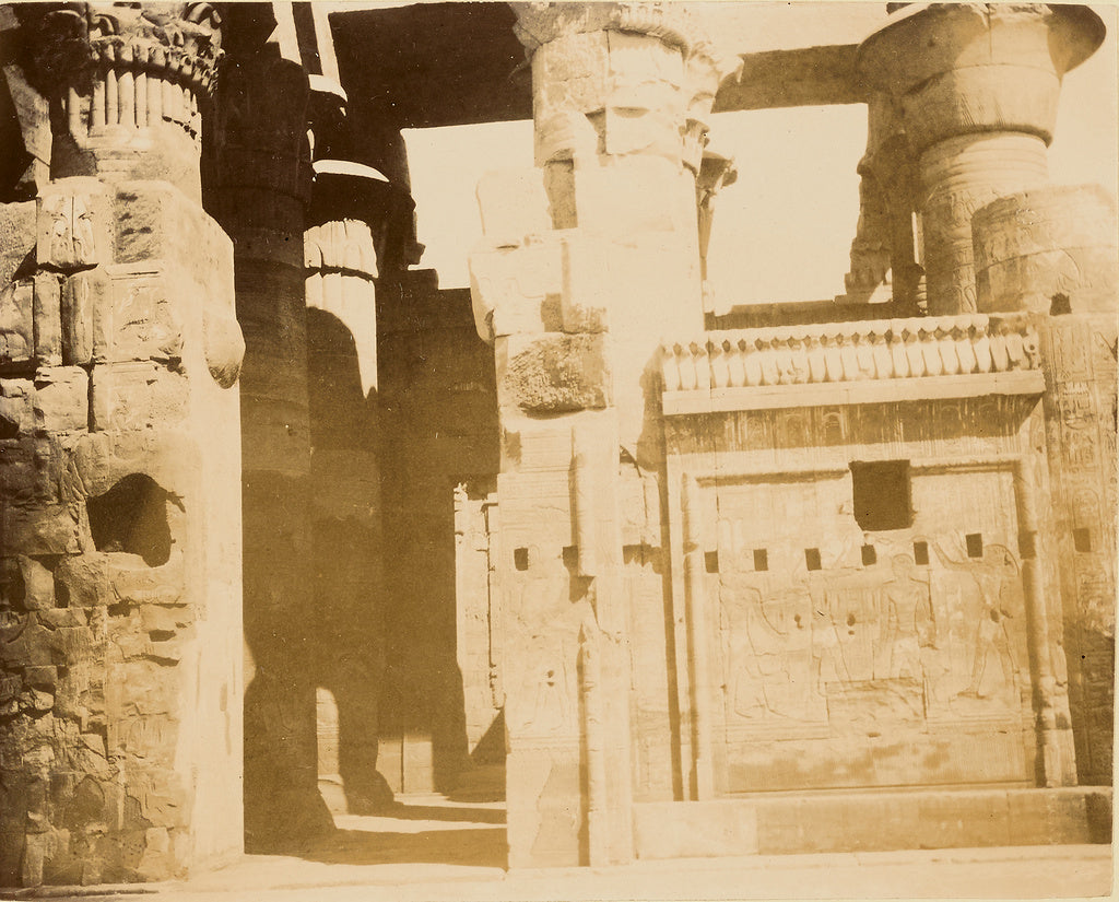Unknown:[Egyptian temple ruins],16x12