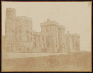 "William Henry Fox Talbot:[Windsor Castle, South Front],16x12""(A3)Poster"