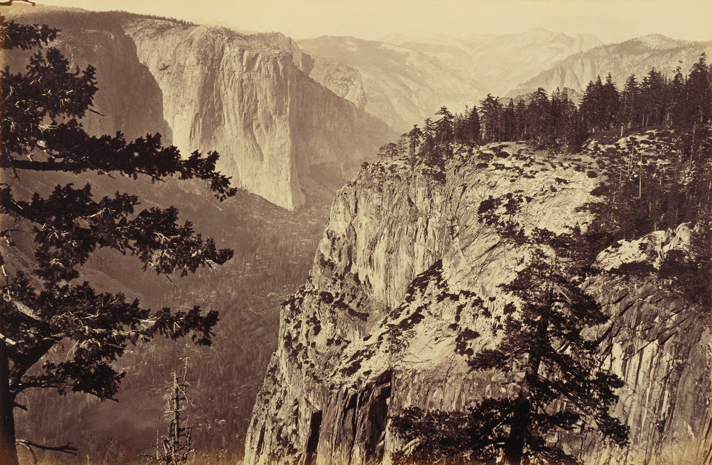 Carleton Watkins:The First View of the Valley from the Marip,16x12