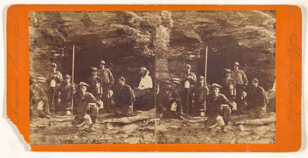 Unknown maker, American:Group of Coal Miners. [Mauch Chuck],16x12