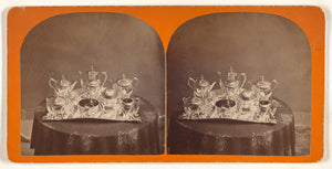 "Simon Towle:[Sterling silver tea set],16x12""(A3)Poster"