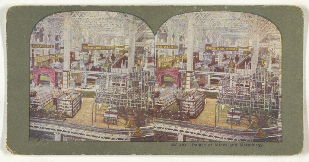 Unknown maker, American:Palace of Mines and Metallurgy.,16x12