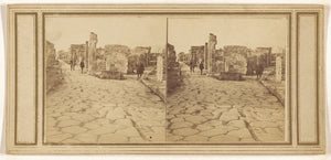 "Unknown maker, Italian:[Street of Herculaneum, Gate of (---i,16x12""(A3)Poster"