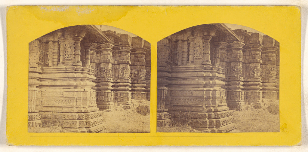 Unknown:[South side of the Stone Temple to Vishnu at Lunar. ,16x12