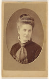 "J. J. Abbott:[Unidentified woman, printed in quasi-oval styl,16x12""(A3)Poster"
