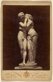 "Giorgio Sommer:[Statue of a couple kissing],16x12""(A3)Poster"