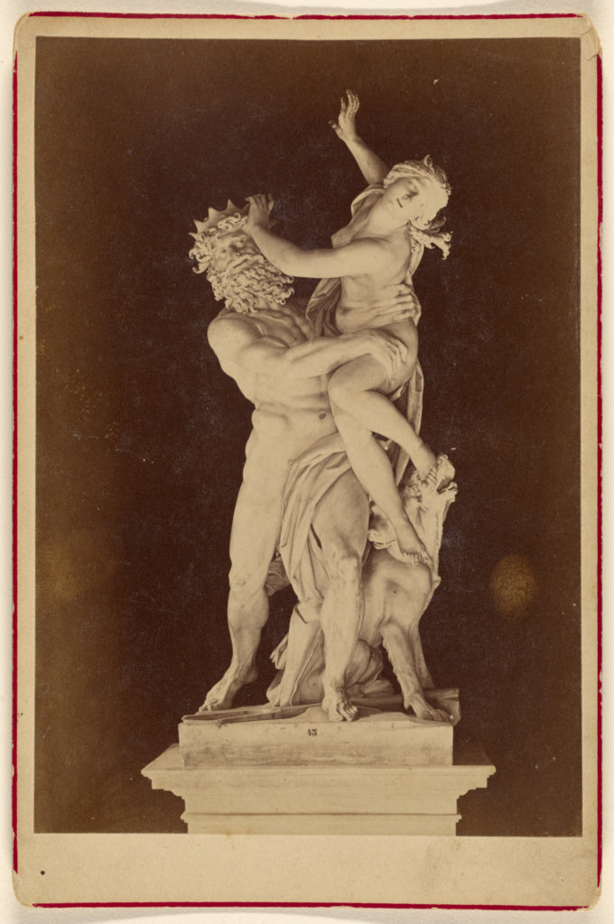Unknown:[The Rape of Proserpina by Bernini],16x12