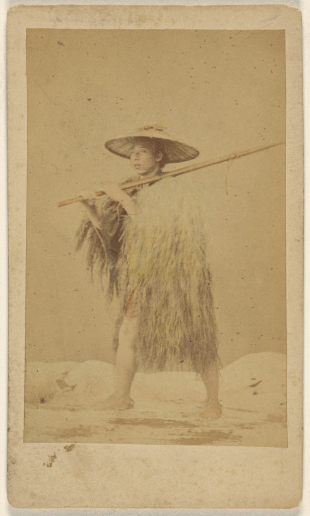 Attributed to Unknown maker, Japanese:[Japanese man wearing ,16x12