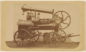 "Unknown maker, American:[Steam Engine],16x12""(A3)Poster"