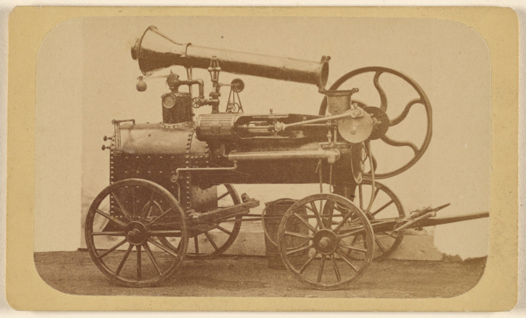 Unknown maker, American:[Steam Engine],16x12