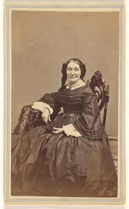 "J. H. Abbott:[Unidentified woman, seated],16x12""(A3)Poster"