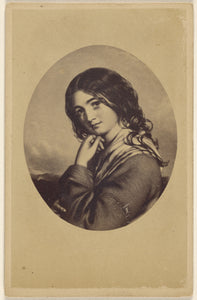 "Unknown:An Irish girl. [copy of a painting],16x12""(A3)Poster"