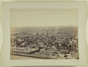 "Unknown maker, Egyptian:[Cairo from Citadel],16x12""(A3)Poster"