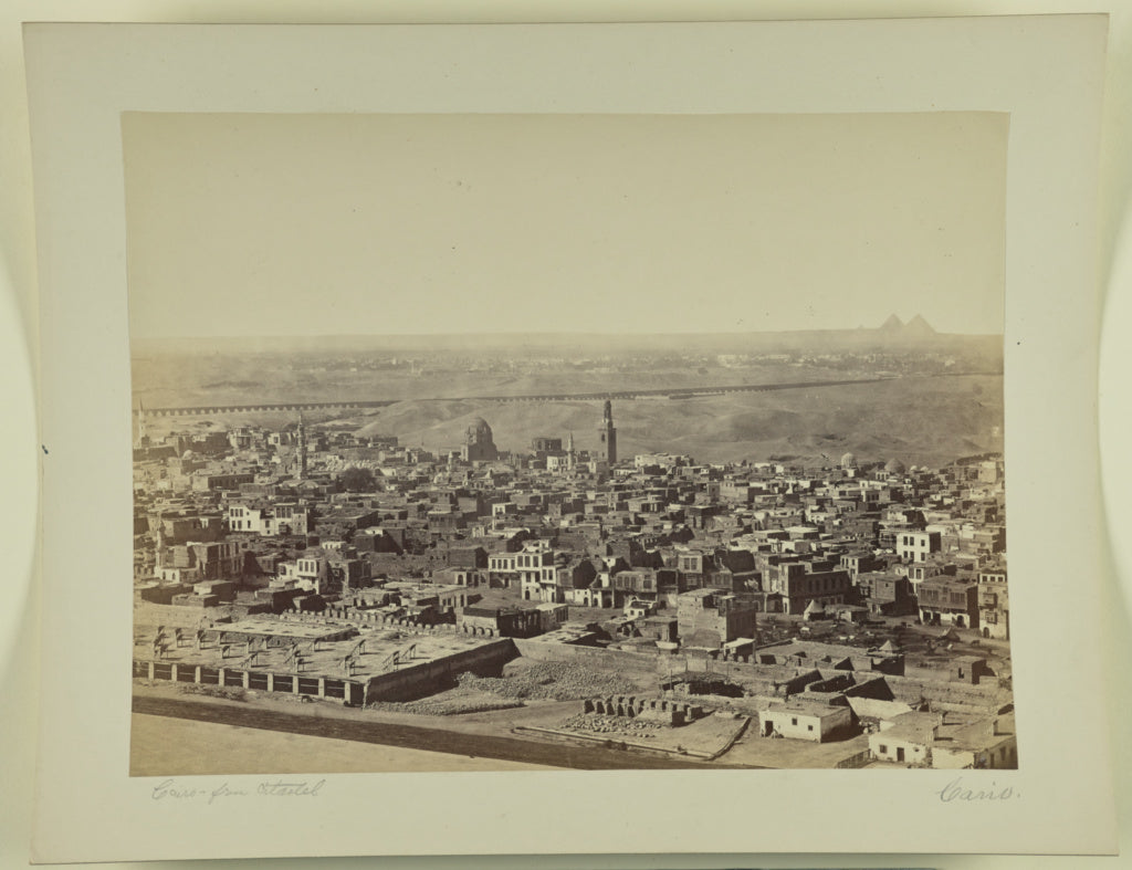 Unknown maker, Egyptian:[Cairo from Citadel],16x12