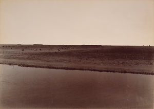 "Carleton Watkins:View on the Calloway Canal, Near Poso Creek,16x12""(A3)Poster"
