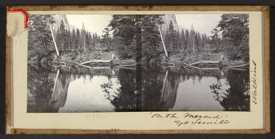 "Carleton Watkins:""'On the Merced' Yo Semite"",16x12""(A3)Poster"