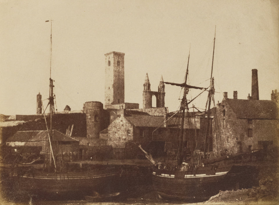 "Hill & Adamson:[St. Andrews Harbour],16x12""(A3)Poster"