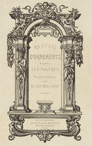 "edouard Baldus:[Frontispiece],16x12""(A3)Poster"
