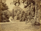 "William M. Lawrence:[Wooden Bench in Park],16x12""(A3)Poster"
